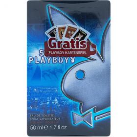 Playboy Super Playboy eau de toilette férfiak számára + ajándék egyedi kártyapakli – 30 ml