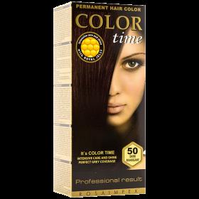 N.ColorTime-vopsea de par 50 Dark Mahagony