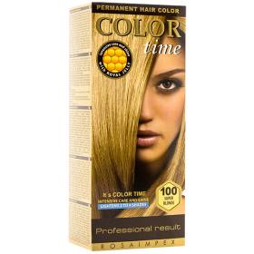 Color Time 100 Super Blonde vopsea permanentă de păr - 100 ml