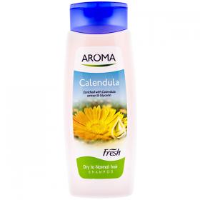 Aroma Calendula șampon pentru păr uscat și normal - 400 ml