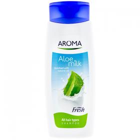 Aroma Aloe Milk șampon pentru toate tipurile de păr - 400ml