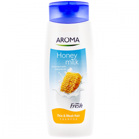 Aroma Fresh Honey and Milk șampon pentru păr subțire - 400 ml
