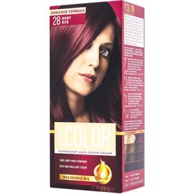 Aroma Color vopsea de par 28 Rubiniu - 90 ml