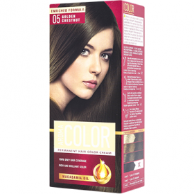 Aroma Color 05 Castaniu auriu vopsea de păr - 90 ml