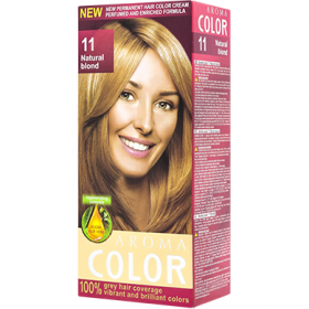 Aroma Color vopsea de par 11 Blond Natural - 90 ml