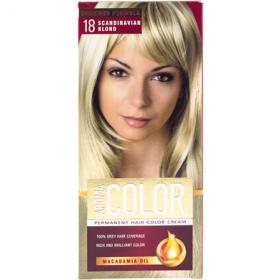 Aroma Color vopsea de par 18 Blonda Scandinava - 90 ml