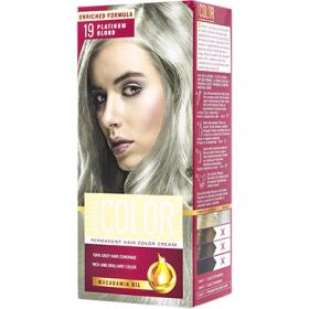 Aroma Color vopsea de par 19 Blond Platinum - 90 ml