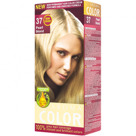 Aroma Color vopsea de par 37 Blond perlat - 90 ml