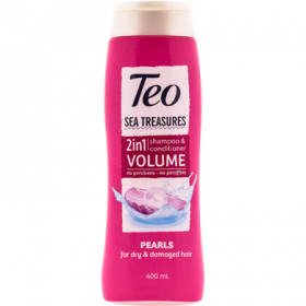 TeoSea-sampon 400ml 2in1 Pearl