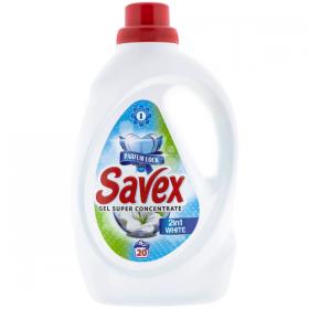 Savex-det.lichid 1,1L White 2in1 (20sp)