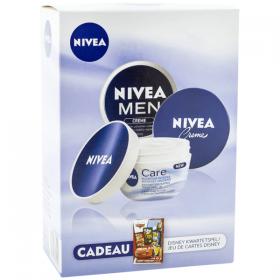 Set B-Nivea 3p+CADOU carti(2crema150ml+cr.100)