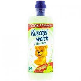 Kuschelweich Aloe Vera balsam pentru rufe - 1 L