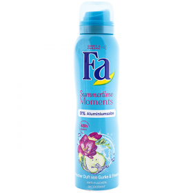 Fa Summertime Moments deodorant spray pentru femei - 150ml