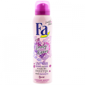 Fa Lovely Kisses deodorant spray pentru femei - 150ml