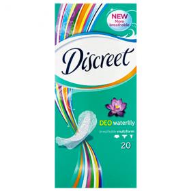 Discreet Waterlily absorbante igienice subțiri - 20 buc