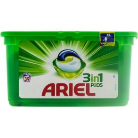 Ariel detergent capsule 3in1 Mountain Spring - 39 buc