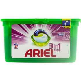 Ariel Touch of Lenor Fresh 3in1 detergent capsule - 39x29,9g