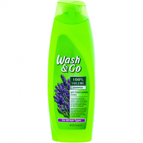 Wash&Go French Lavender Extract sampon – 200 ml