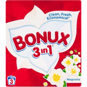 Bonux 3in1 detergent de rufe automat Magnolia - 300 gr