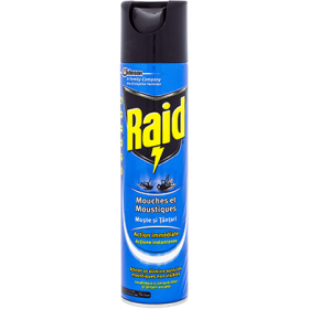 Raid-spray 400ml muste si tantari
