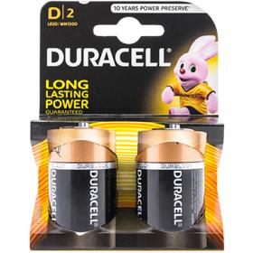 Duracell Alkaline D LR20 baterii - 2 buc.