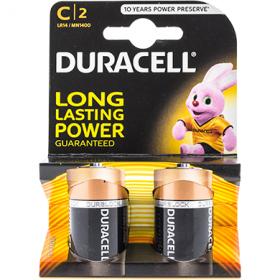 Duracell Alkaline C LR14 elem - 2 db.