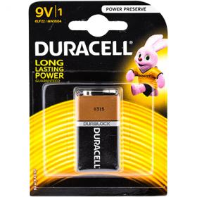 Duracell 6LF22 9V elem - 1 db.