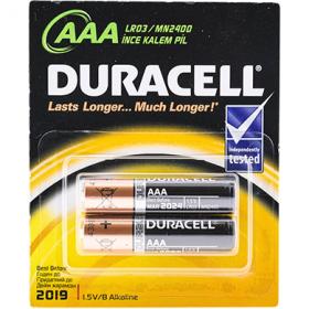 Duracell Alkaline AAA LR03 baterii - 2 buc