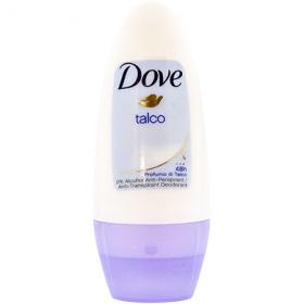 Dove Talco deodorant roll-on pentru femei - 50 ml