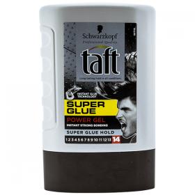 Taft Super Glue Power Gel nr. 14 gel de păr - 300 ml