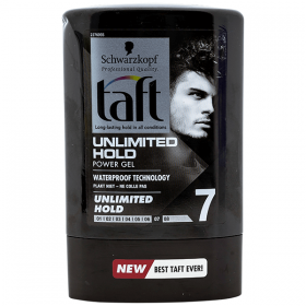 Taft Unlimited Hold nr. 7 gel de par - 300 ml
