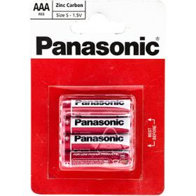 Panasonic Zinc Carbon baterii AAA R03 - Size S - 4 buc.