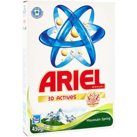 Ariel Mountain Spring detergent manual pentru rufe – 450 gr