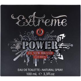 Parfum New Brand Extreme Power pentru barbati - 100 ml