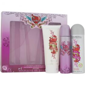 Set Cuba Heartbreaker pentru femei: EDP + Deodorant spray + Lotiune de corp