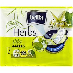 Bella Herbs Tilia absorbante igienice - 12 buc