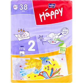 Happy-scutece Mini 38pcs 3-6Kg