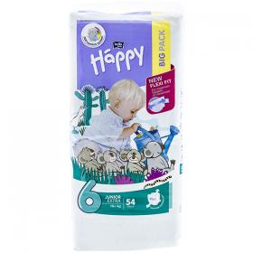 Happy Junior Extra 6 (16+ kg) scutece pentru copii – 54 buc