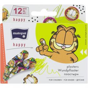 Matopat Happy plasturi pentru copii – 12 buc.