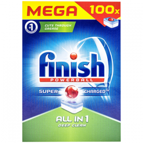 Finish-100buc tablete 1600g All in 1