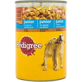 Pedigree Junior Pui hrană umedă pentru cățeluși - 400 gr