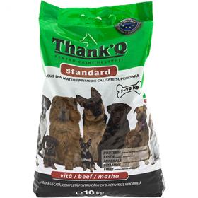 ThankQ hrană uscata cu vită pentru câini - 10kg