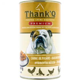 ThankQ Dog-cons.1240g carne de pasare