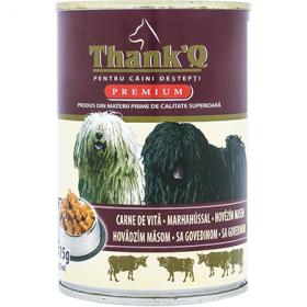 ThankQ Dog-cons.415g carne de vita