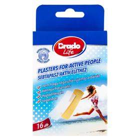 Brado Life Active plasturi – 16 buc