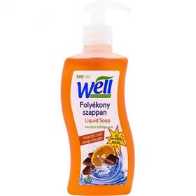 Well săpun lichid cu parfum de portocale și ciocolată – 500 ml