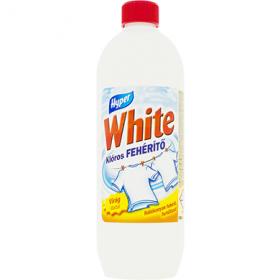Hyper White Floral înălbitor de rufe pe bază de clor - 1 L