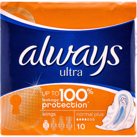Always Ultra Normal Plus absorbante igienice - 10 buc