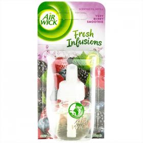 Air Wick  Verry Berry Smoothie rezervă odorizant cameră - 19 ml