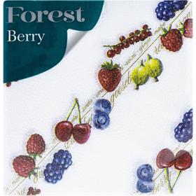 Servetele 1 strat Forest Berry - 60 buc.